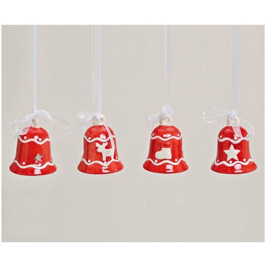 Rode Kerstbel Hanger Winter winkel kopen